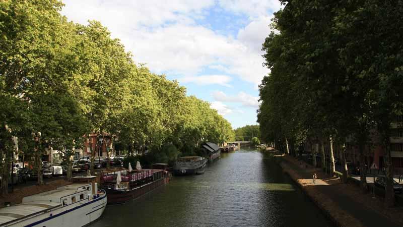 El canal de Toulouse. Foto de: ALBERTO PERAL