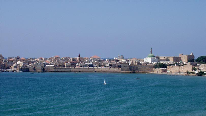 Panorámica de San Juan de Acre. Foto de: ONTI