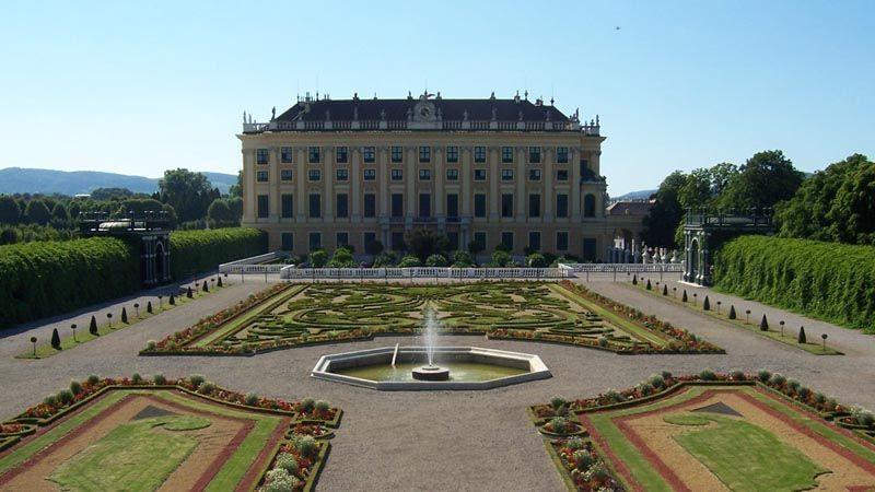 Jardín del príncipe. Schönnbrun. Foto de: PALOMA GIL