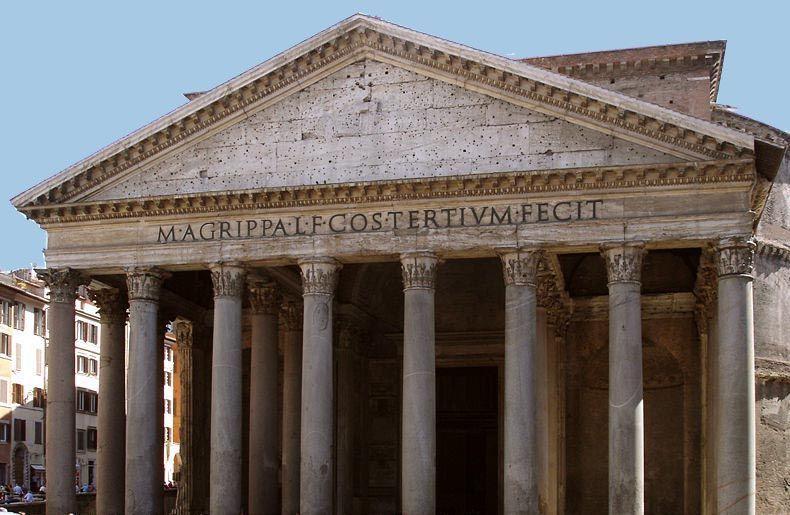 El panteón de Agripa. Foto de: ALBERTO PERAL