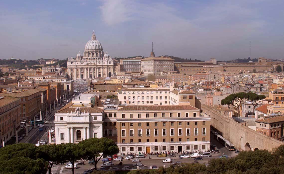 Vista del Vaticano. Foto de: ALBERTO PERAL