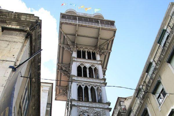 Elevador de Santa Justa en Lisboa   Foto: Alberto Peral