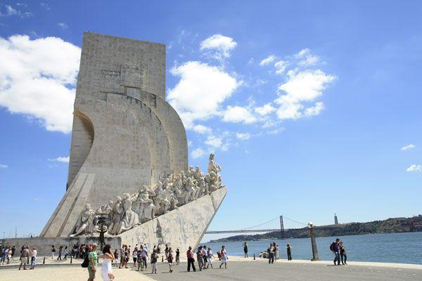 Monumento a los descubridores en Lisboa   Foto: Alberto Peral