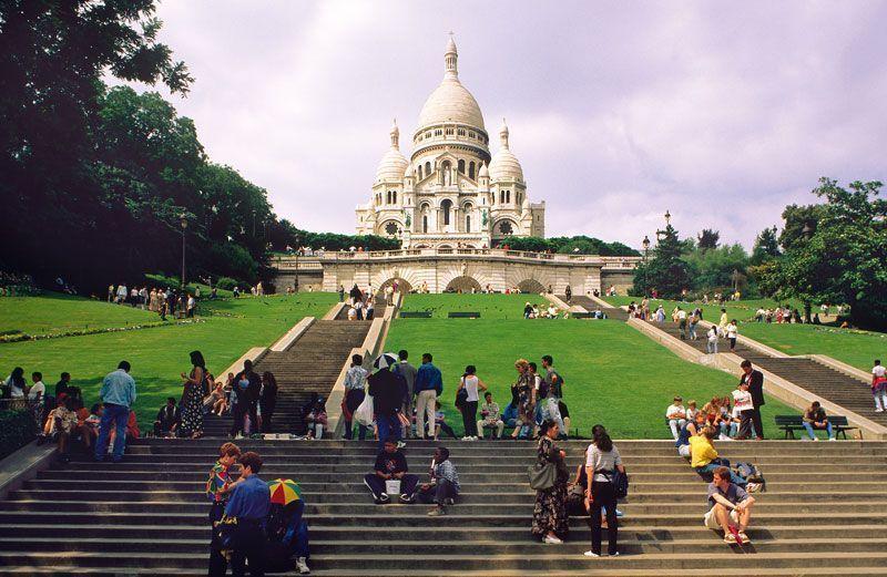 Basílica del Sagrado Corazón de París | Foto: París Turismo