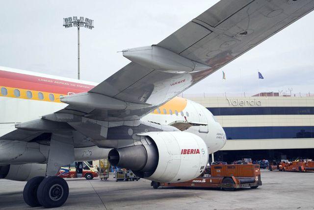 Iberia se para de nuevo: 156 vuelos cancelados en la primera de 30 jornadas de huelga