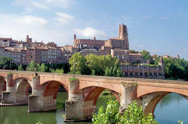 La catedral de Albi es la protagonista de la ciudad | Foto: Comité regional de turismo del Tarn