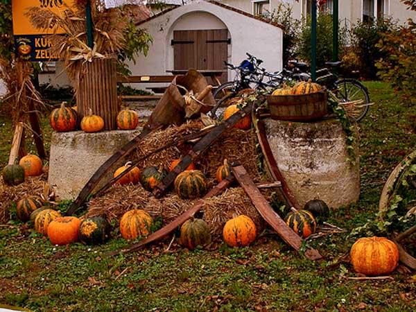 Decoracion de Halloween en Austria