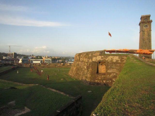 Fortaleza en Galle y juego del cricket | Foto: Almudena Alameda