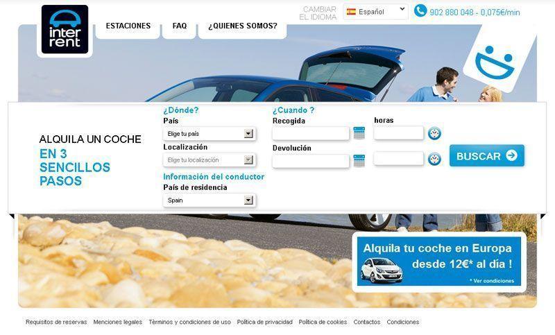 Europcar lanza interrent su compa a de bajo coste para alquilar coches revista80dias - Oficinas europcar madrid ...