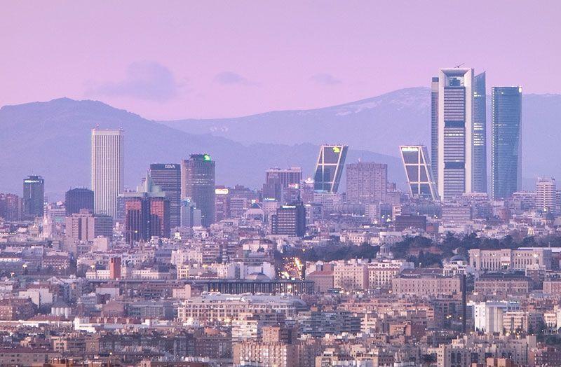 Skyline de la ciudad de Madrid   Foto: José Barea para Madrid Visitors and Convention Bureau