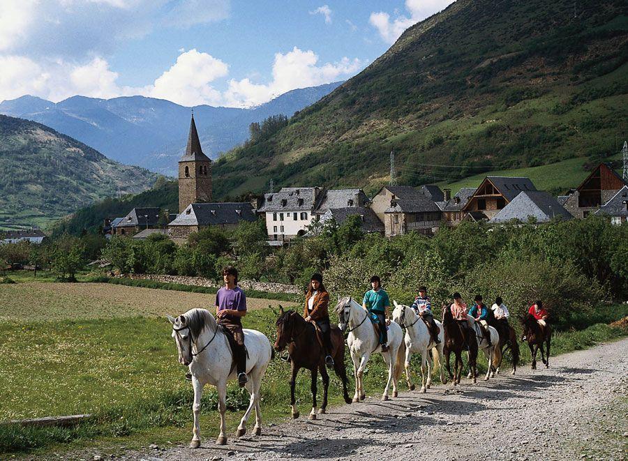 Rutas a caballo en el Valle de Arán | Foto: Patronato de Turismo de la Diputación de Lleida