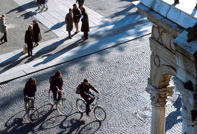 Las bicis abundan en la ciudad de Ferrara | Foto: Turismo Ferrara