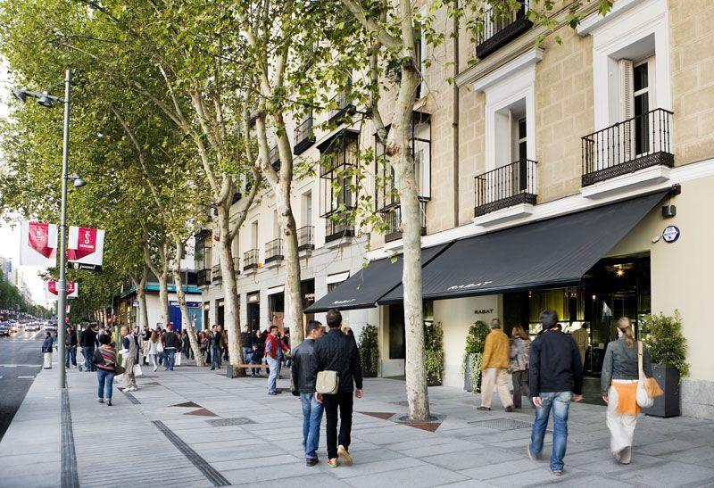 La calle Serrano de Madrid, centro de compras de lujo | Foto: José Barea para Madrid Visitors and Conventions Bureau