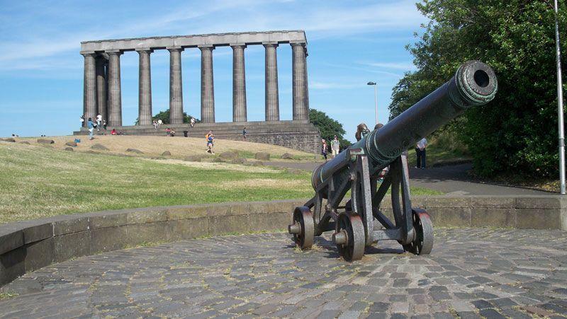 Monumentos inacabados en Calton Hill   Foto: David Fernández