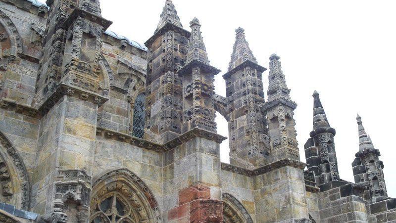 Detalle de la capilla de Roslin | Foto: David Fernández