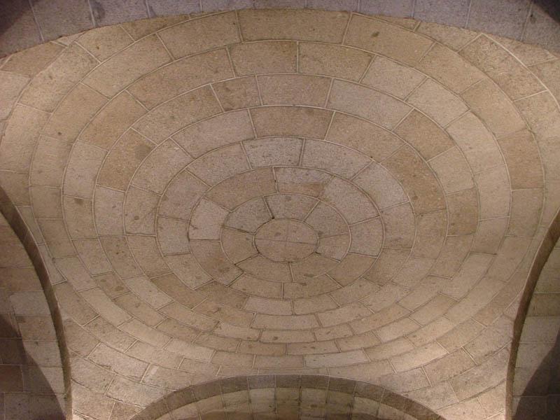 Bóveda plana en el Monasterio de San Lorenzo de El Escorial | Foto: Paloma Gil