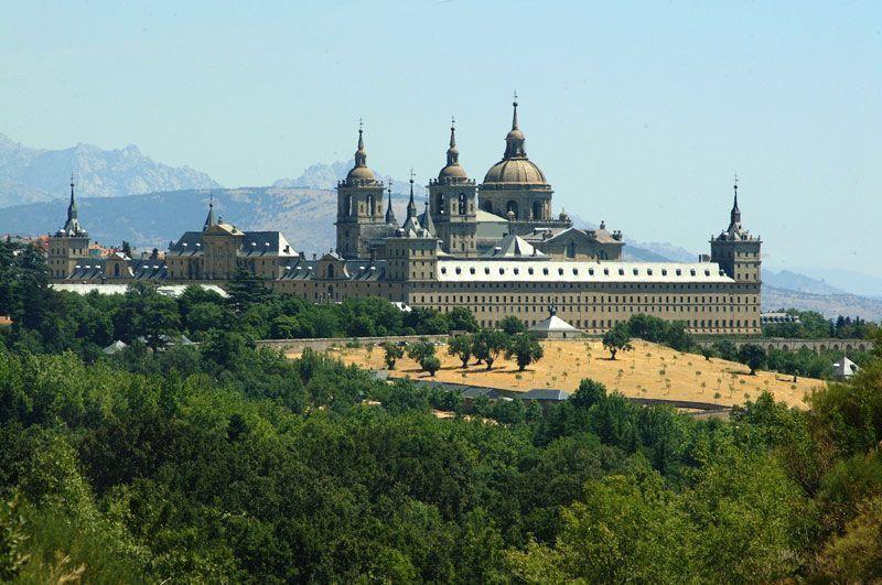 El Monasterio de San Lorenzo de El Escorial visto desde la silla de Felipe II | Foto: Turismo de Madrid