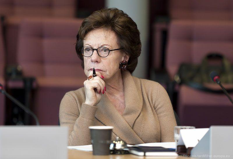 Neelie Kroes, vicepresidenta de la Comisión Europea y comisaria de Agenda Digital | Foto: Comisión Europea