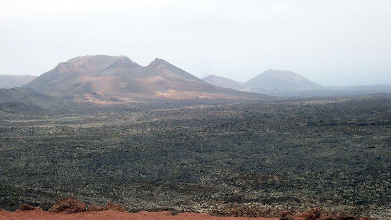 Vista del parque de Timanfaya | Foto: David Fernández