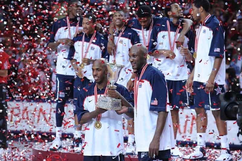 EEUU ganó la final de la copa del mundo de baloncesto en 2010 | Foto: FIBA