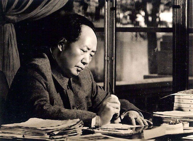 Mao Zedong, presidente de la República Popular China