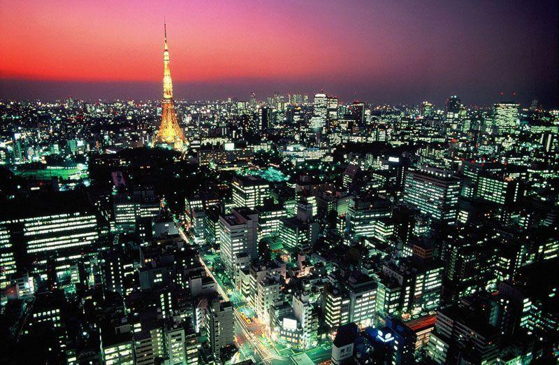 Tokio, de noche | Foto: Tokyo Conventions and Bureau