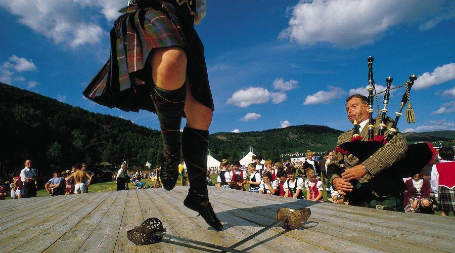 Los Highland games | Foto: VisitScotland