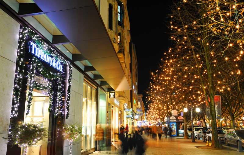 Compras durante la Navidad en Düsseldorf | Foto: Turismo de Düsseldorf