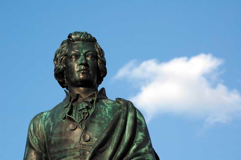 Mozart en Salzburgo | Foto: Turismo de Salzburgo