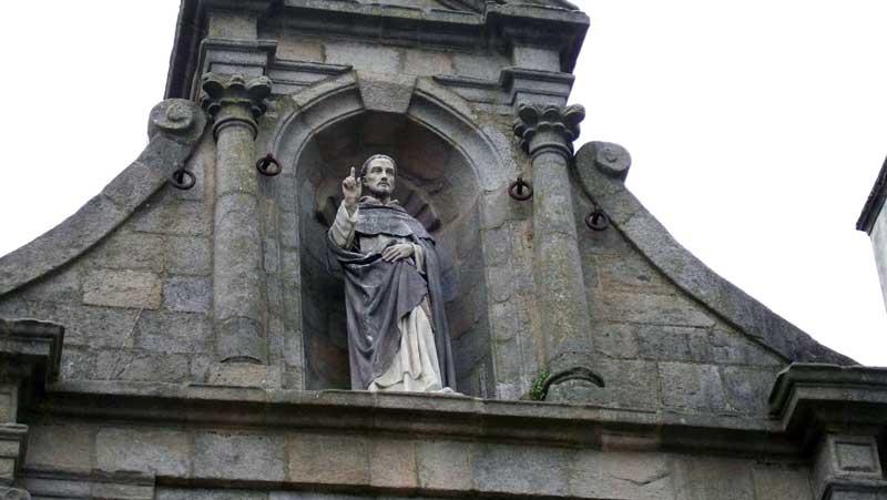 San Vicente Ferrer, en una de las puertas de entrada a Vannes | Foto: David Fernández