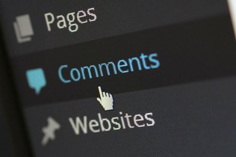 Comentarios de Wordpress | Foto: Pixelcreatures en Pixabay