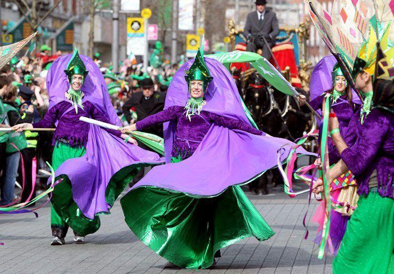 Desfile de San Patricio en Dublín | Foto: Turismo de Irlanda