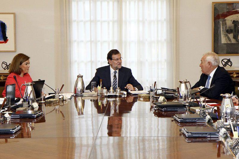 Mariano Rajoy preside el Consejo de Ministros | Foto: La Moncloa