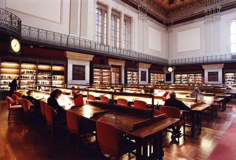 Salón de lectura de la Biblioteca Nacional de España | Foto: Biblioteca Nacional
