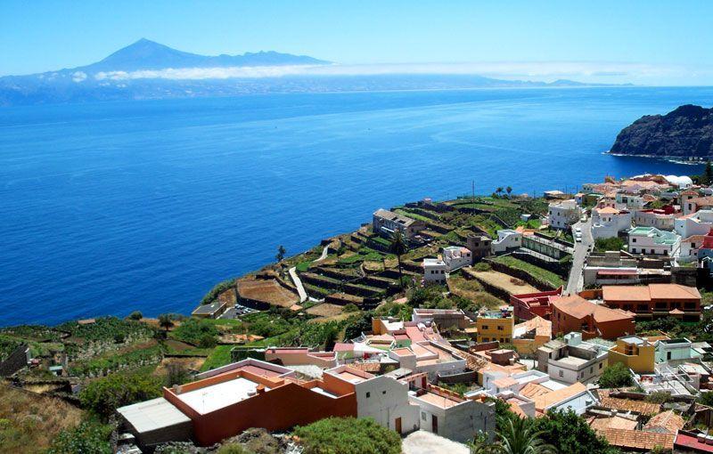 El Teide, en la isla de Tenerife, visto desde La Gomera | Foto: David Fernández