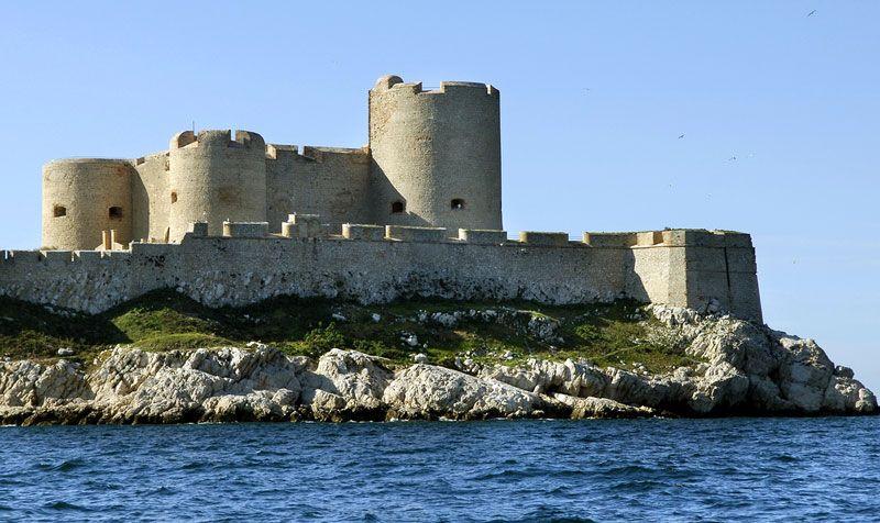 Castillo de If, en Marsella, donde se sitúa la acción del Conde de Montecristo | Foto: Turismo de Marsella