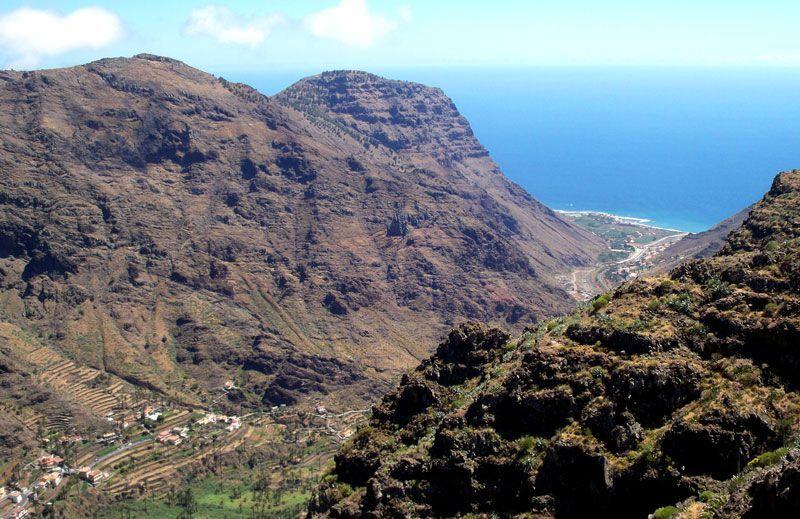 Valle del Gran Rey desde el mirador de César Manrique | Foto: David Fernández