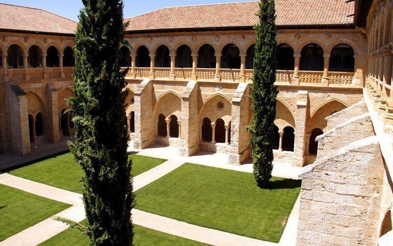 Claustro del Monasterio de Valbuena | Foto: Beatriz de Lucas Luengo