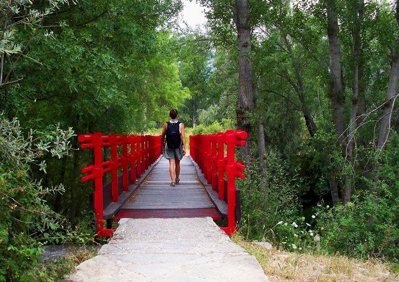 Puente hacía Rascafría que cruza el río Lozoya | Foto: David Fernández