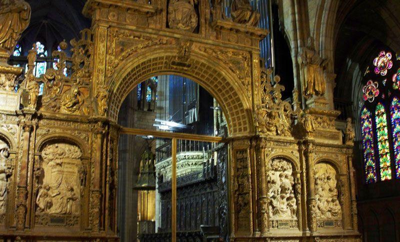 Trascoro de la catedral de León | Foto: David Fernández