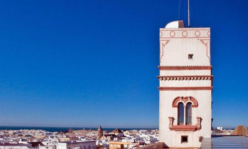 La Torre Tavira, lugar privilegiado para obtener una panorámica de Cádiz   Foto: Torre Tavira