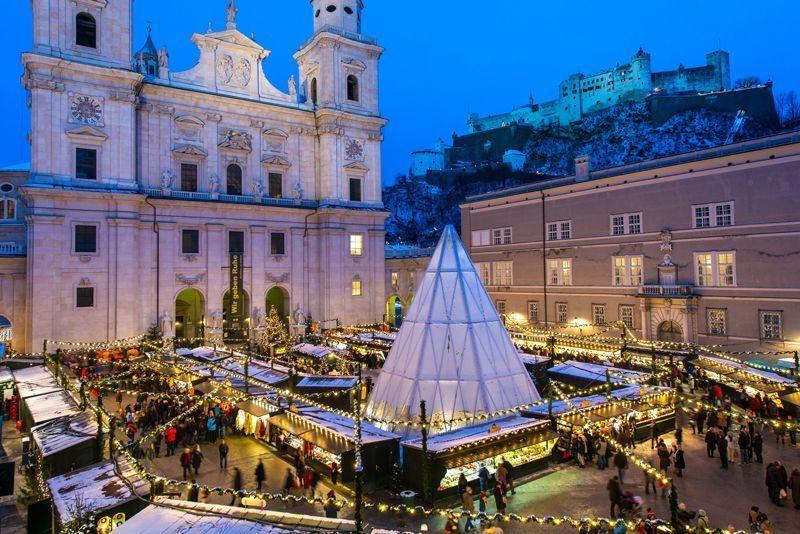 Mercadillos de Navidad en Salzburgo | Foto: Salzburgo Turismo