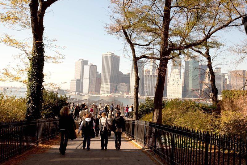 The brooklyn Heights promenade - foto OTNY