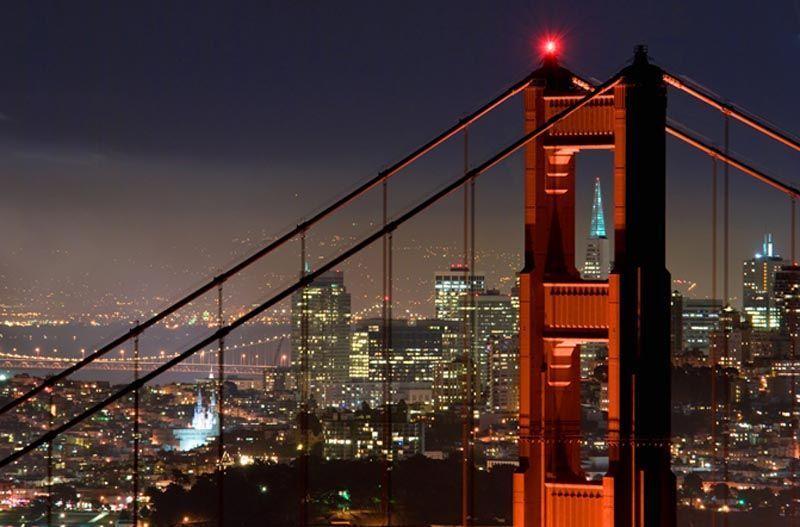 San Francisco de noche - foto de OTSF