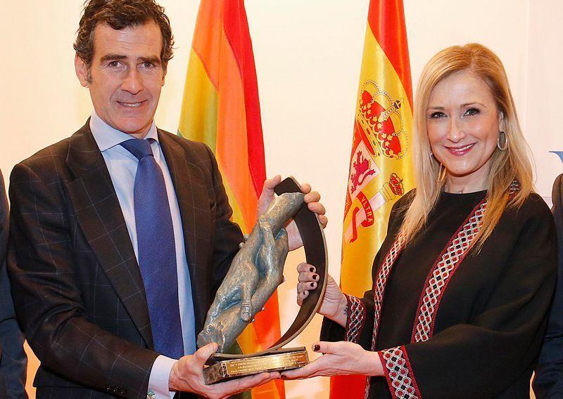 Carlos Chaguaceda, director general de Turismo de Madrid, y Cristina Cifuentes, presidenta de la Comunidad de Madrid   Foto: Flickr de Cristina Cifuentes