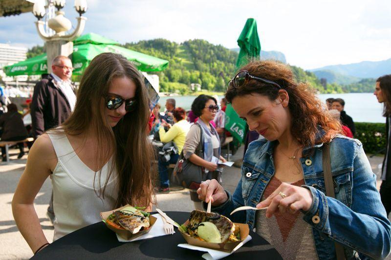 Taste Bled, gastronomía en la ciudad medieval | Foto: Turismo de Bled
