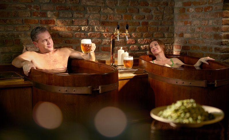 Spa de cerveza | Foto: David Marvan para la Oficina de Turismo de República Checa