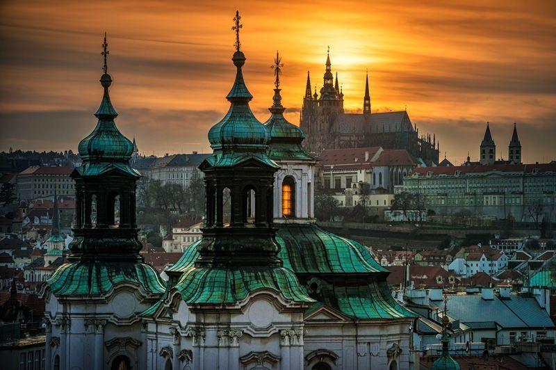 Vista del Castillo de Praga | Foto: Praga City Tourism