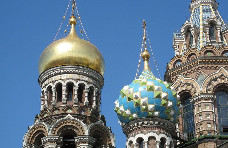 Típicos tejados en las iglesias ortodoxas rusas | Foto: romanov para Pixabay