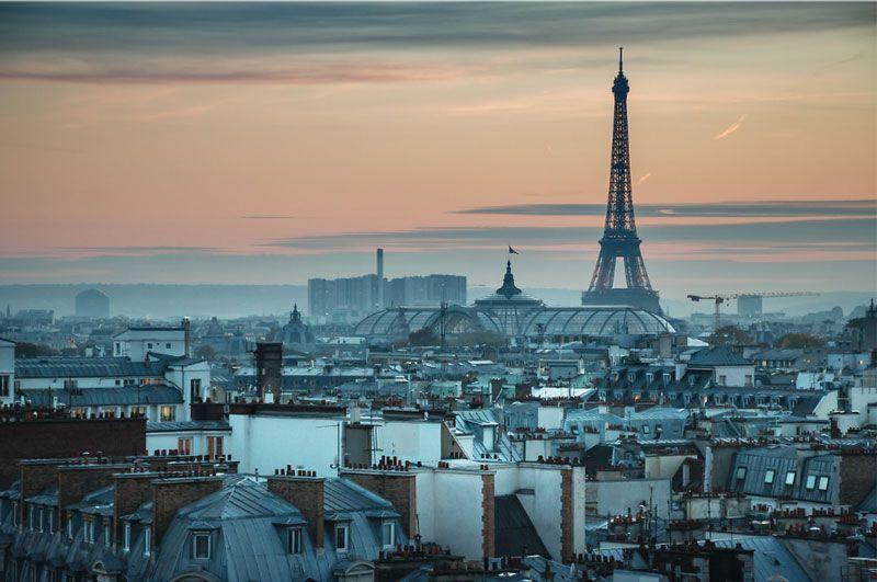 Vista de las construcciones de París | Foto: Sarah Sergent para Paris Tourist Office